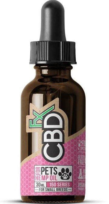 cbdfx cbd hemp oil pet tincture 150