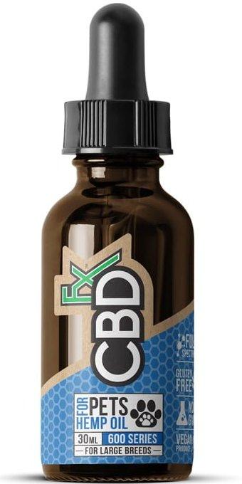 cbdfx cbd hemp oil pet tincture 600