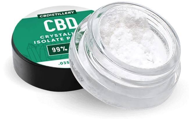 cbdistillery cbd crystalline isolate powder