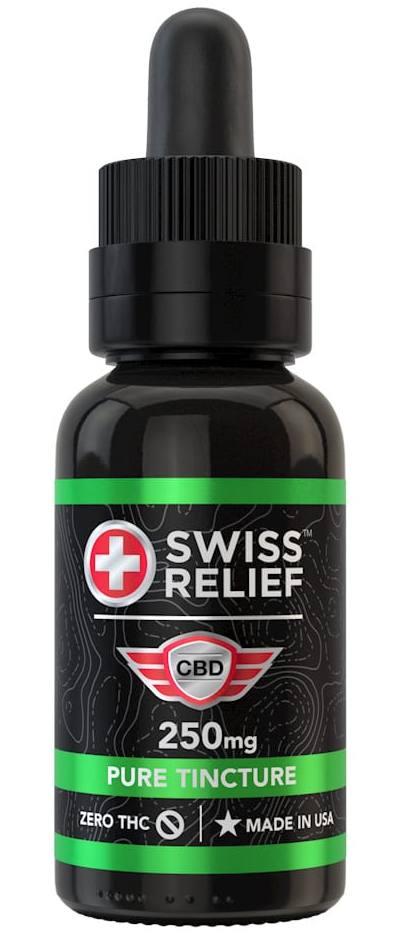 swiss relief pure cbd tincture